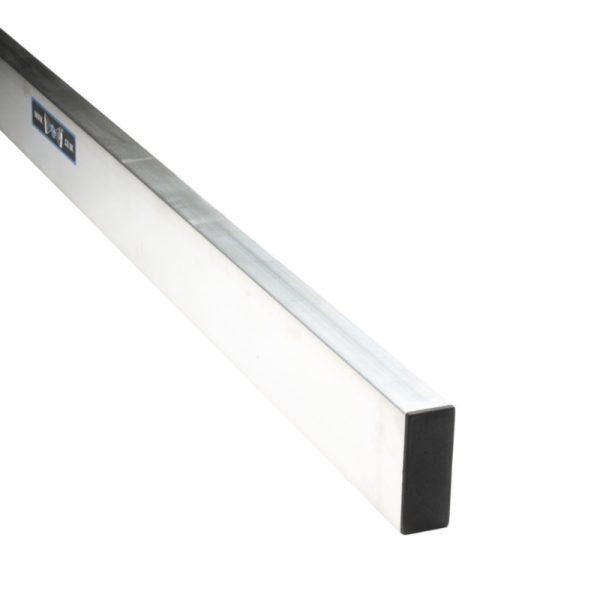 Aluminium Straight Edge Box Section by Toughtools Heavy Duty