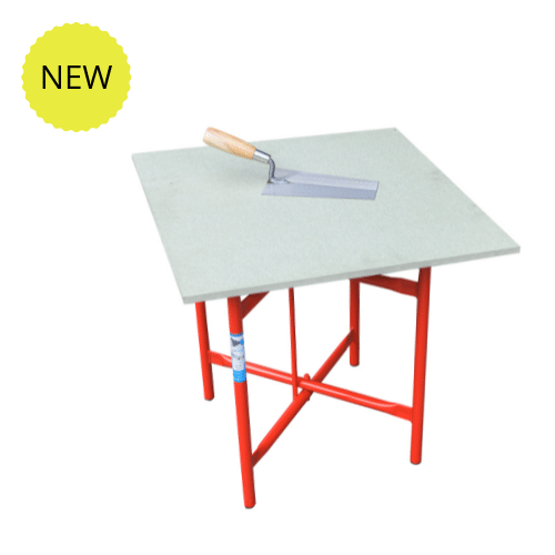 Low Level Plasterer Table & Top Board 20″ High 20″ Wide