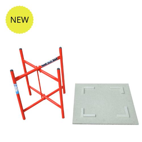 Low level plasterer stand